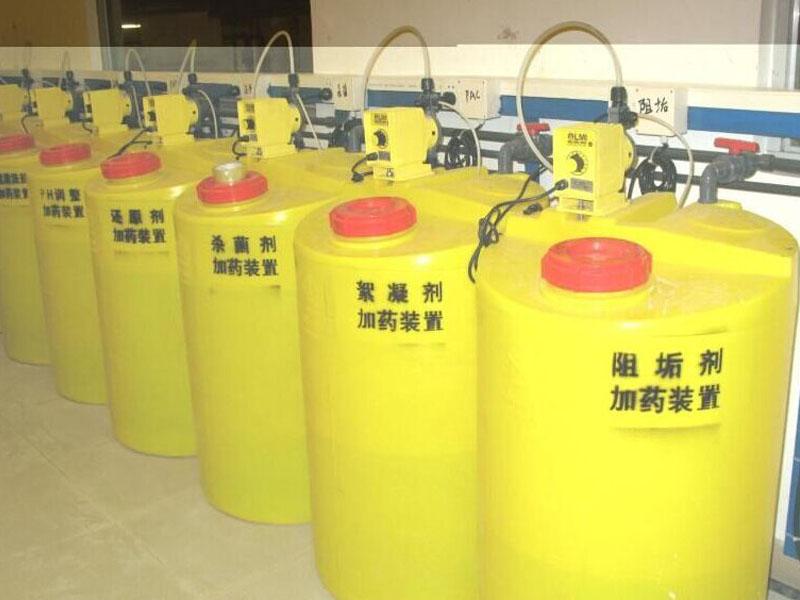 重庆塑料加药箱溶盐箱水处理成套设备
