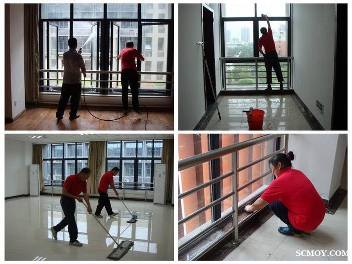 专业工程开荒地毯清洗家庭保洁提供深度保洁